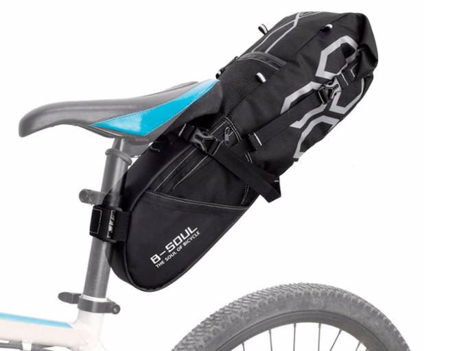 Велосипедная сумка подседельная B-Soul VSP (12L) Black
