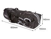 Велосипедная сумка подседельная B-Soul VSP (12L) Black - Фото 1
