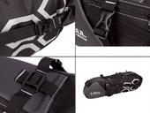 Велосипедная сумка подседельная B-Soul VSP (12L) Black - Фото 5