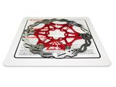 Тормозной диск (ротор) для велосипеда VXM 160mm (red) - Фото 1