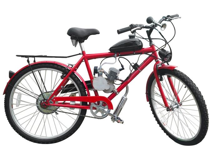 Велосипед с бензиновым мотором Dakar Forester ZNC
