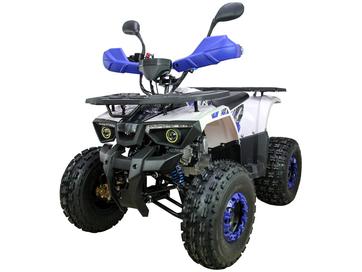 Бензиновый квадроцикл ATV Classic 8+ New 2020 (125 кубов) Blue/Red - Фото 0