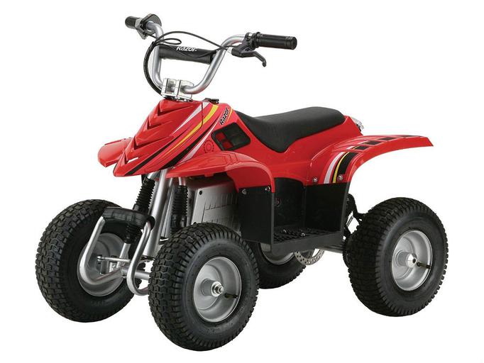 Детский электроквадроцикл Razor Dirt Quad (350 Вт)