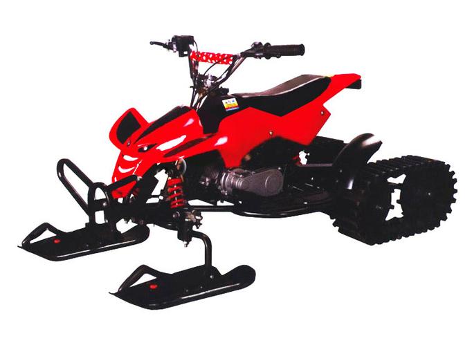 Снегоход и квадроцикл Zrobot SQ-1 Snowquadro