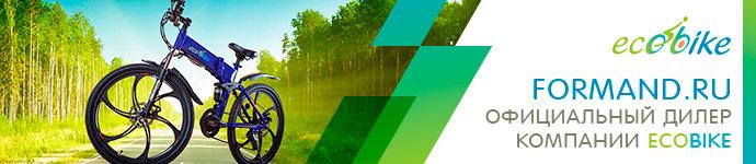 Сайт официального дилера электровелосипедов Ecobike