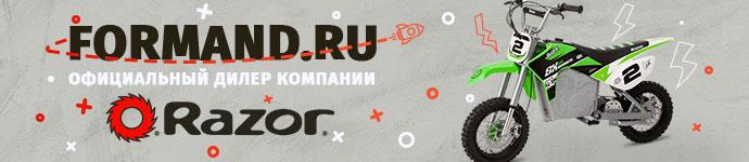 Сайт официального дилера Razor