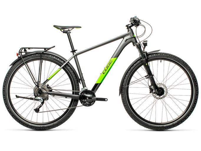 Велосипед Cube Aim SL Allroad 27.5 (2021)
