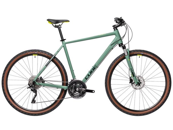 Велосипед Cube Nature EXC (2021)