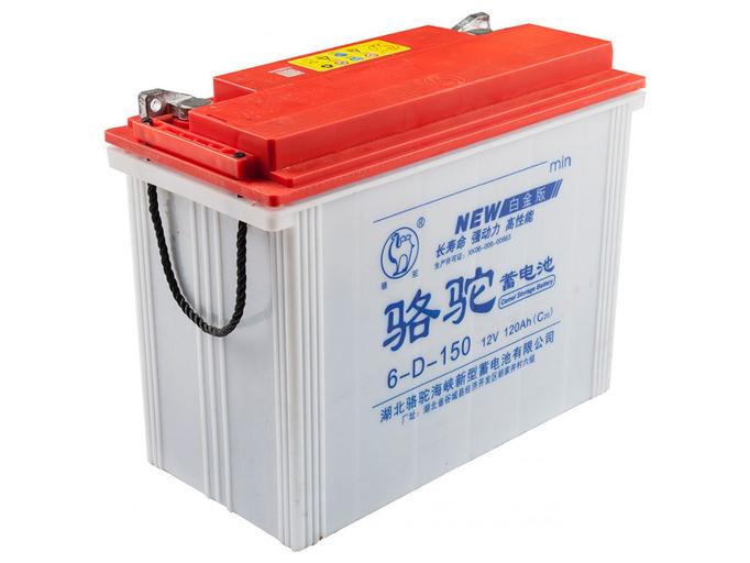 Свинцово-кислотный тяговый гелевый аккумулятор RuTrike 6-GFM-120 (12V120A/H C20)