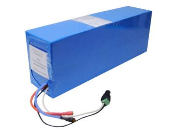 Литиевый аккумулятор для электровелосипеда Li-ion 48В 17,6Ач 30А - Фото 0