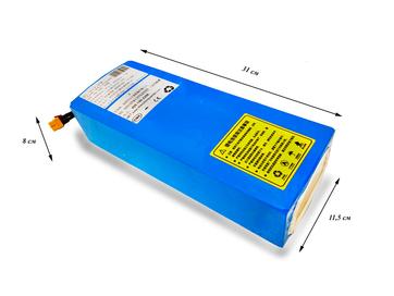 Литиевый аккумулятор для электровелосипеда Li-ion 18650 36В 18Ач 25А