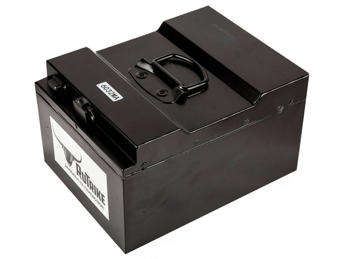 Литиевый тяговый аккумулятор RuTrike 60V32A/H Li(MnCoNi)O2