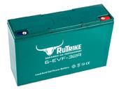 Свинцово-кислотный тяговый гелевый аккумулятор RuTrike 6-EVF-32 (12V32A/H C3) - Фото 0