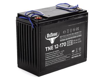 Тяговый гелевый аккумулятор RuTrike TNE 12-170 (12V135A/H C3) - Фото 0