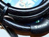 Трос противоугонный с кодовым замком Tonyon TY532 - Фото 5