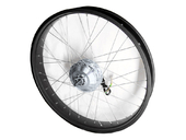 Мотор-колесо для фэтбайка 350Вт - 500Вт 48В 26 (переднее, редукторное) - Фото 0