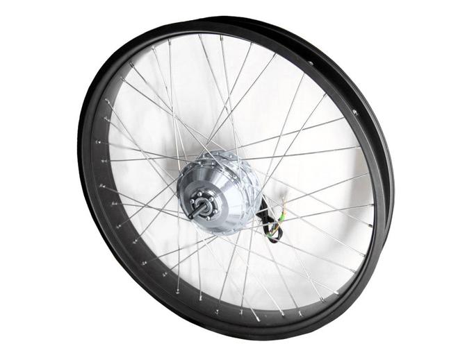 Мотор-колесо для фэтбайка 350Вт - 500Вт 48В 26 (переднее, редукторное)