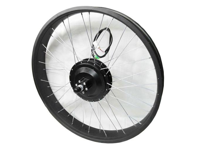 Мотор-колесо для фэтбайка 500Вт - 800Вт 48В DDK 26 (переднее, редукторное)