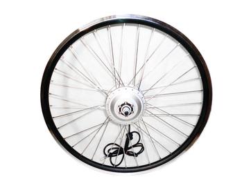 Мотор-колесо для электровелосипеда 350Вт 48В DDK 26 (переднее, редукторное) - Фото 0