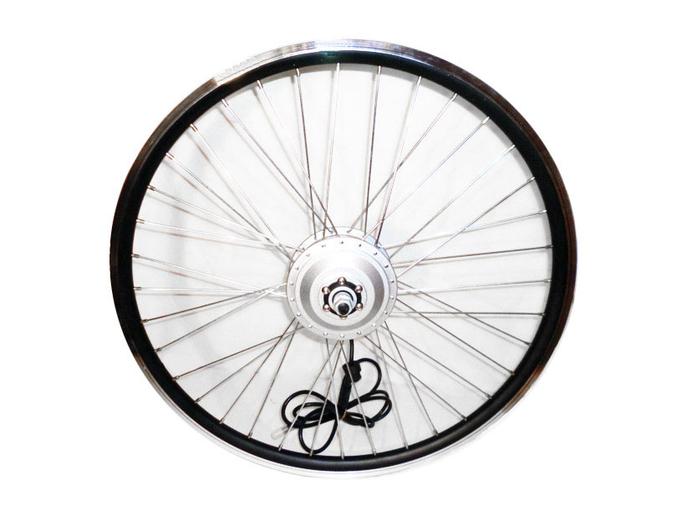 Мотор-колесо для электровелосипеда 350Вт-500Вт 48В MXUS 26 (переднее, редукторное)