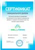 Сертификат официального дилера Wellness