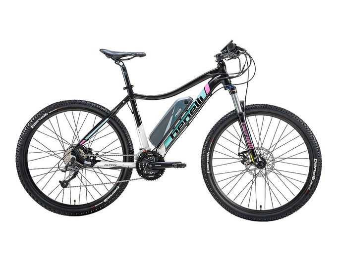 Электровелосипед Benelli Alpan W 27.5 STD 14Ah с ручкой газа