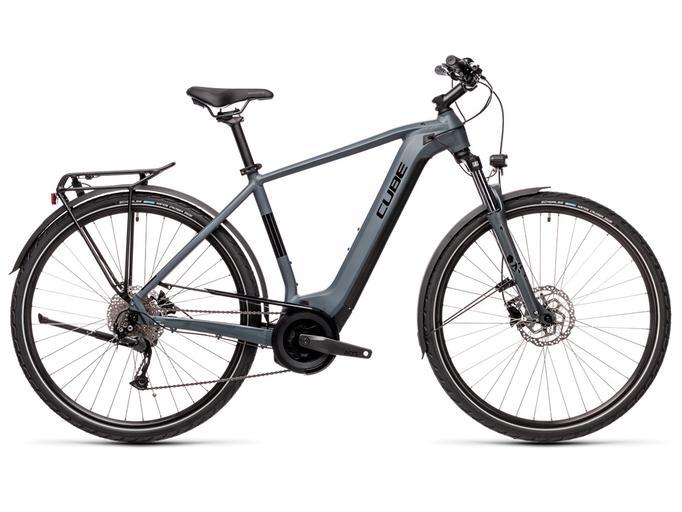 Электровелосипед Cube Touring Hybrid One 400 (2021)