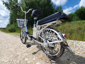Электровелосипед Delivery Line V8 (8,8Ah 48V 350W, 18 дюймов) - Фото 8