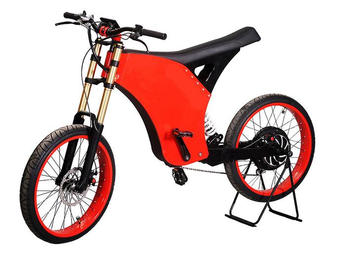 Электровелосипед E-motions MegaVolt De Lux