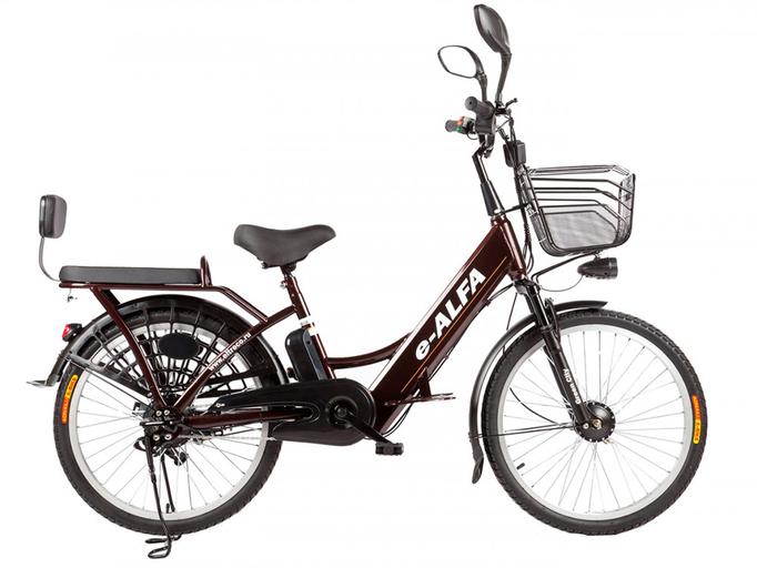 Электровелосипед Eltreco e-ALFA