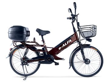 Электровелосипед Green City e-ALFA GL с кофром