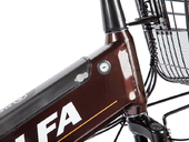Электровелосипед Green City e-ALFA GL с термобоксом - Фото 13