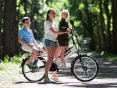 Электровелосипед Green City e-ALFA GL с термобоксом - Фото 14