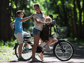 Электровелосипед Green City e-ALFA GL с термобоксом - Фото 15