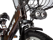 Электровелосипед Green City e-ALFA GL с термобоксом - Фото 6