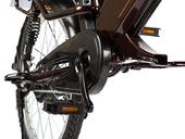 Электровелосипед Green City e-ALFA GL с термобоксом - Фото 8