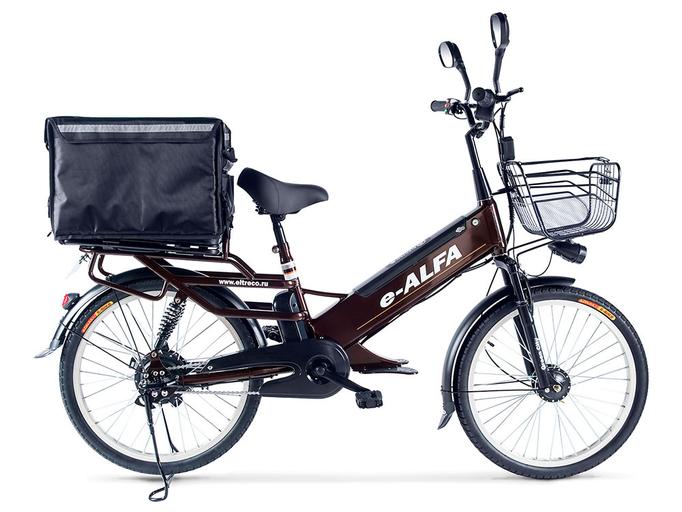 Электровелосипед Green City e-ALFA GL с термобоксом