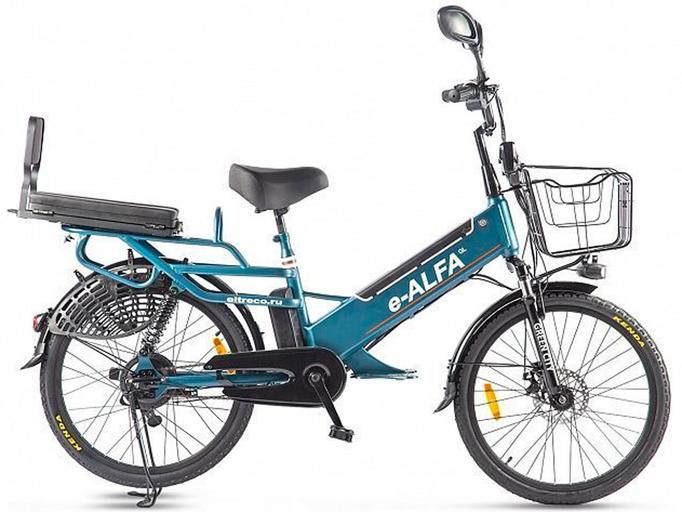 Электровелосипед Green City e-ALFA GL