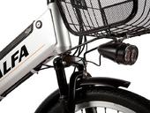 Электровелосипед Green City e-ALFA L с кофром - Фото 1