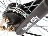 Электровелосипед Green City e-ALFA L с кофром - Фото 5
