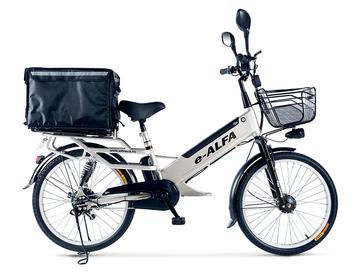 Электровелосипед Green City e-ALFA L с термобоксом