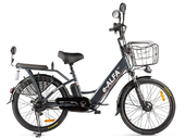 Электровелосипед GREEN CITY e-ALFA New 2020 (Eltreco) - Фото 26