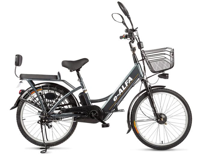 Электровелосипед Green City e-ALFA