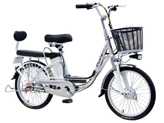 Электровелосипед GreenCamel Trunk R20 (350W 48V 10Ah)