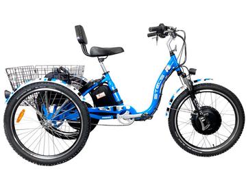 Электрический трицикл Horza Stels Trike 24 Полный привод
