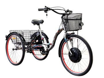 Электровелосипед трицикл Horza Stels Trike 26-1000