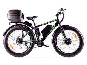 Электровелосипед VOLTECO Bigcat Dual 1000 с кофром - Фото 0