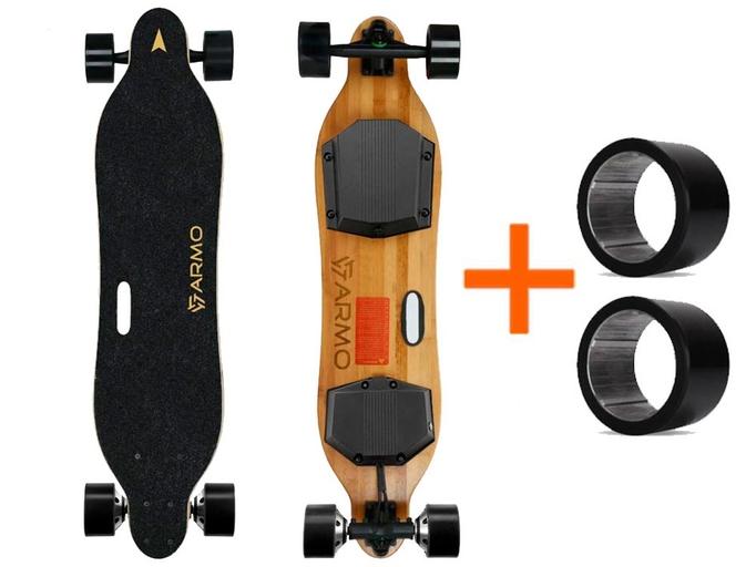 Электроскейтборд Armo Board Gen 2 (PRO LG 6.4Ah/25km +2PU)