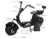 Электробайк Caigiees Harley MAX - Фото 1