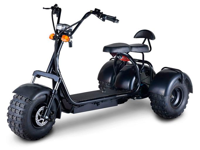 Электротрицикл CityCoco Blackline R3 ARX